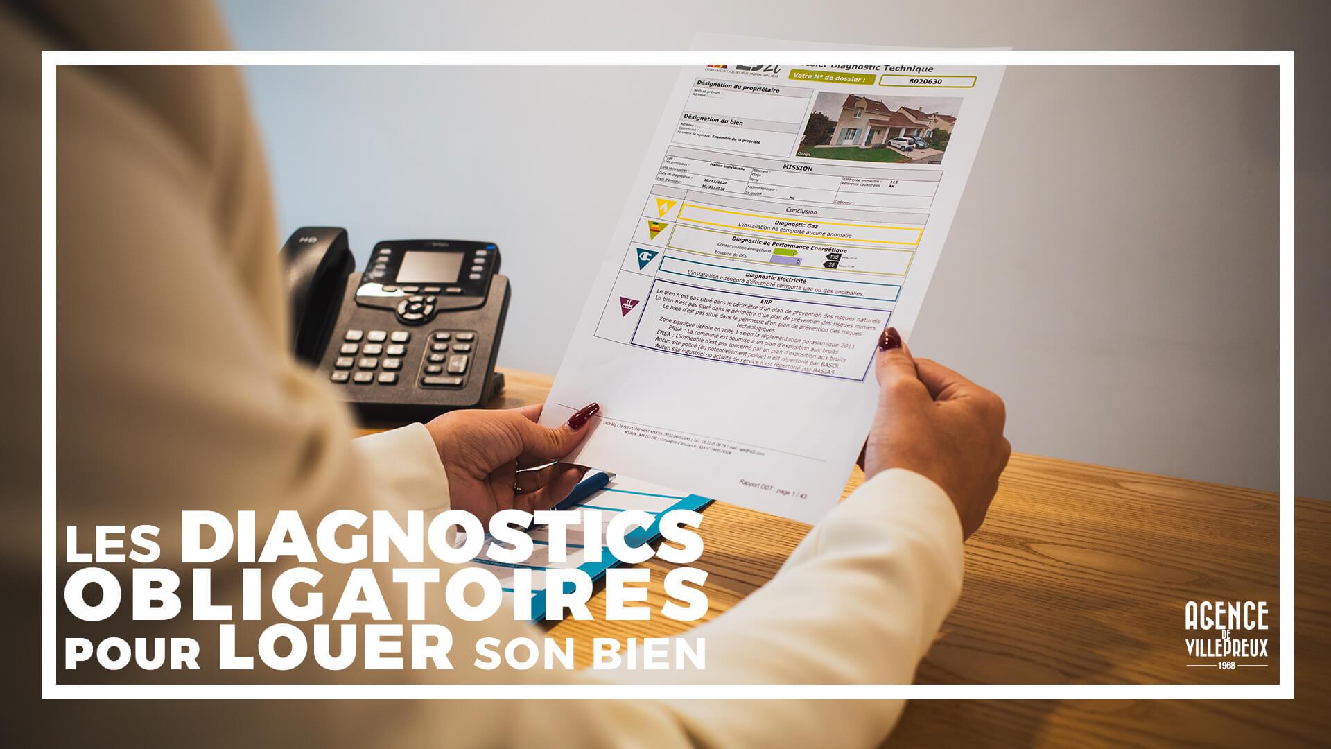 diagnostics immobiliers pour louer
